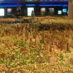 Maqueta del centro de Shanghai