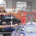 El camión-dragón fantástico