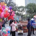 Un domingo en Zhongshan Park