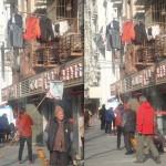 Destendiendo en la calle