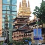 La nueva torre de Jing'An Temple