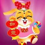 Feliz Año Nuevo del Conejo - 兔年快乐!