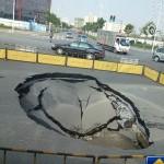 Carreteras que se hunden (II)
