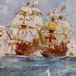Ark Royal de Howard contra el San Martín de Medina Sidonia
